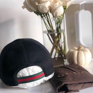 Gucci Wool Baseball Hat